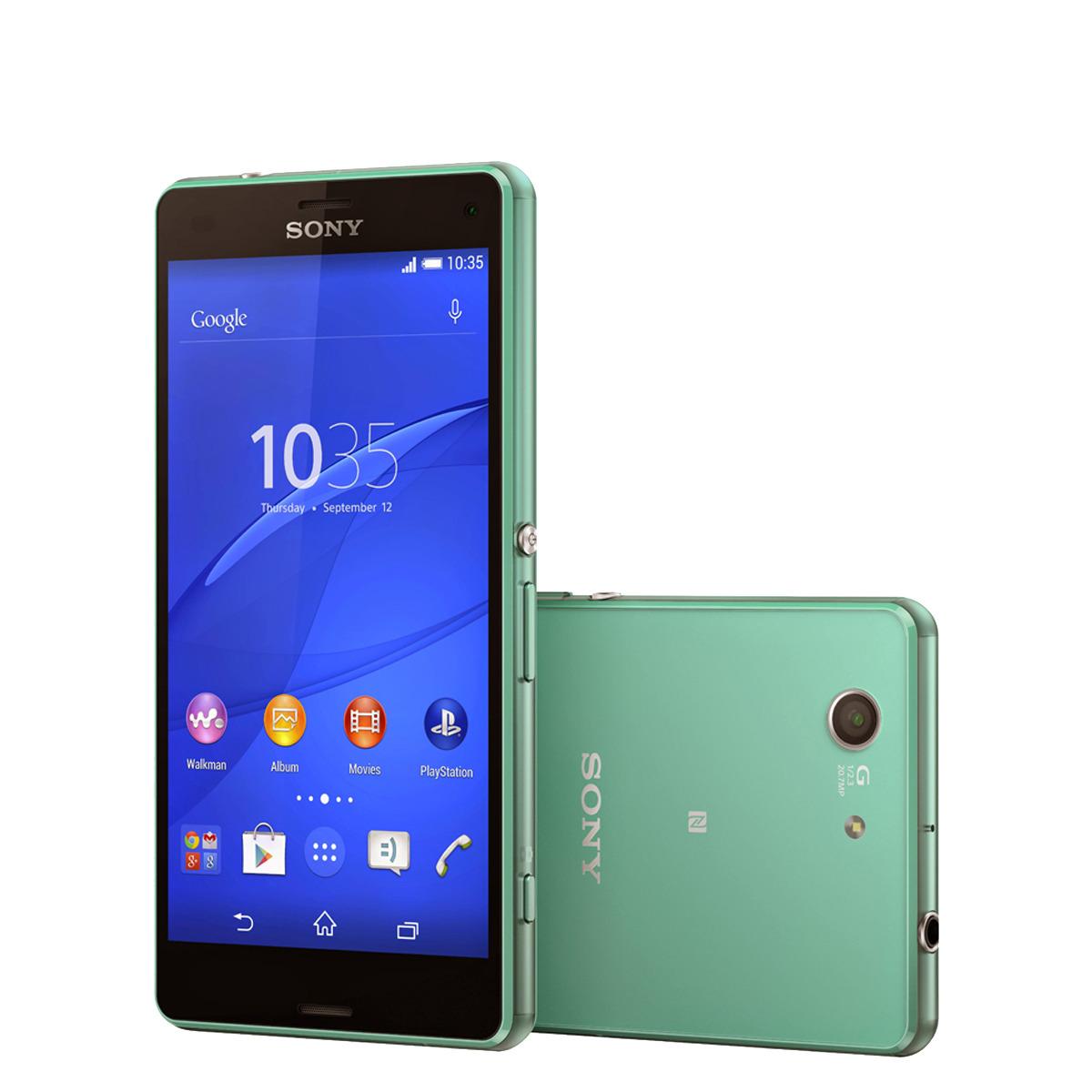Smartphone libre Sony Xperia Z3 Compact verde