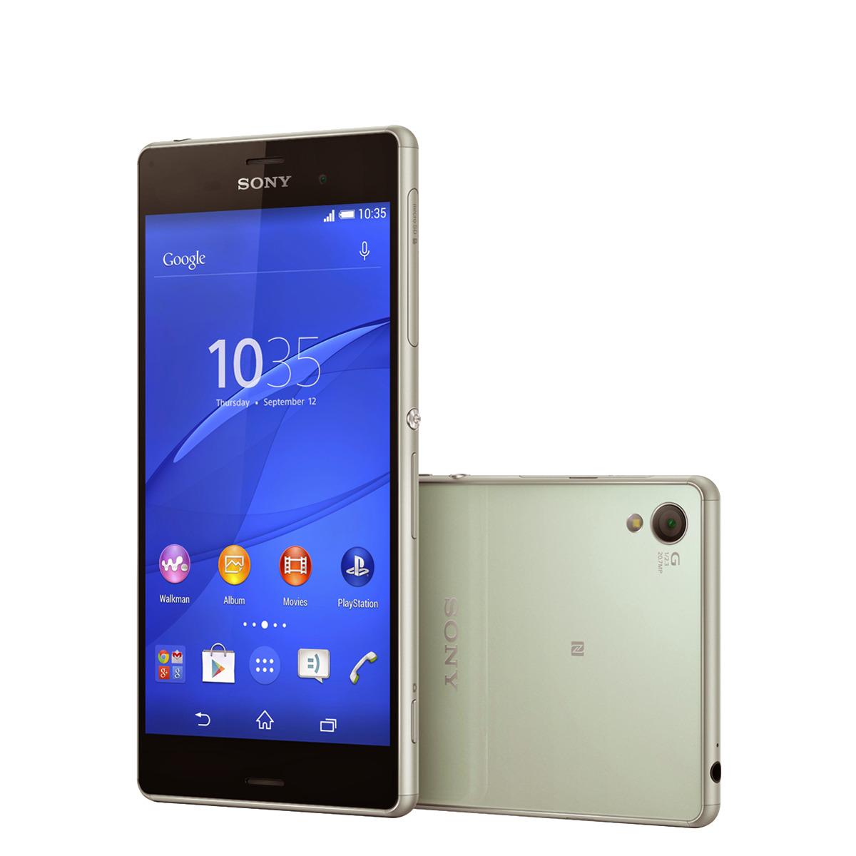 Smartphone libre Sony Xperia Z3 verde