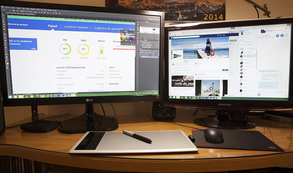 Usar Dos Monitores Con Un 250 Nico Ordenador C 243 Mo