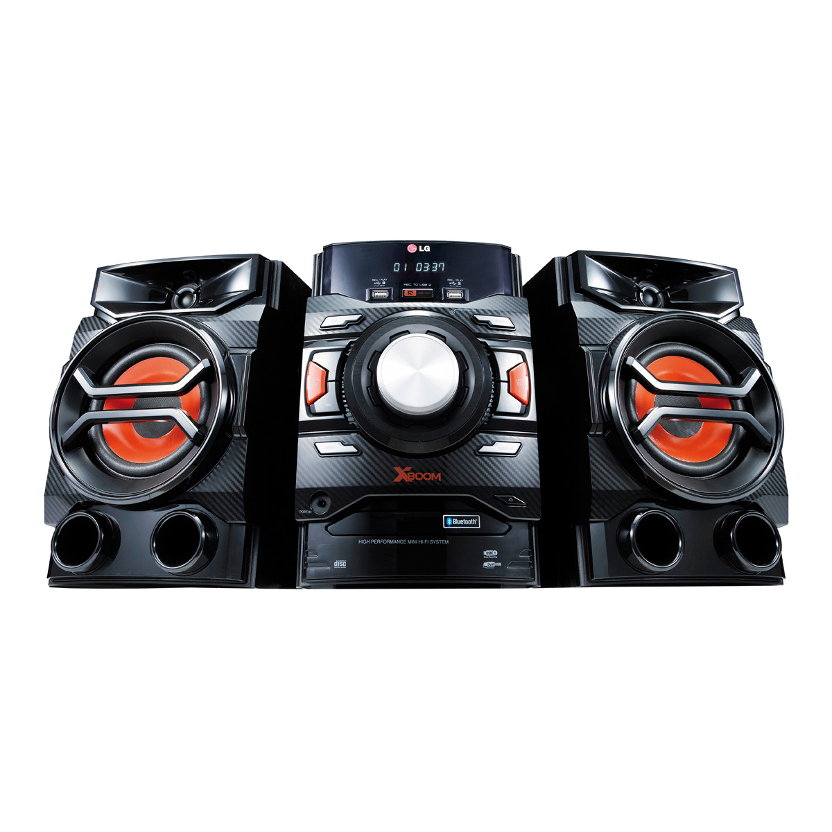 Equipo Hi-Fi LG CM4350 con CD, Radio, USB Recording y Bluetooth