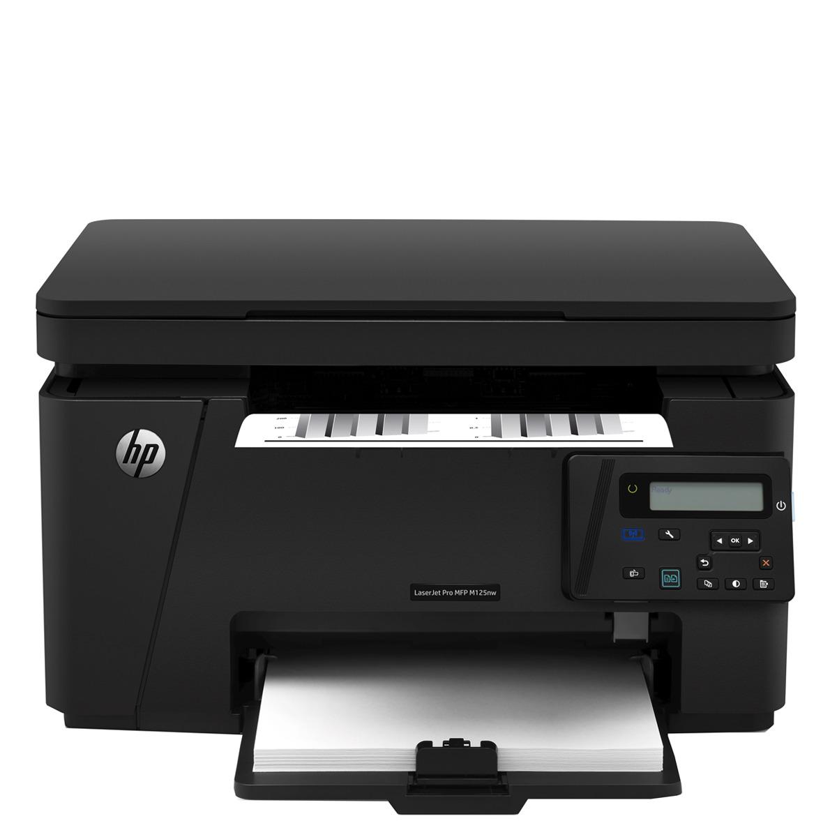 Impresora Multifunción Láser monocromo HP LaserJet Pro MFP M125nw Wi-Fi
