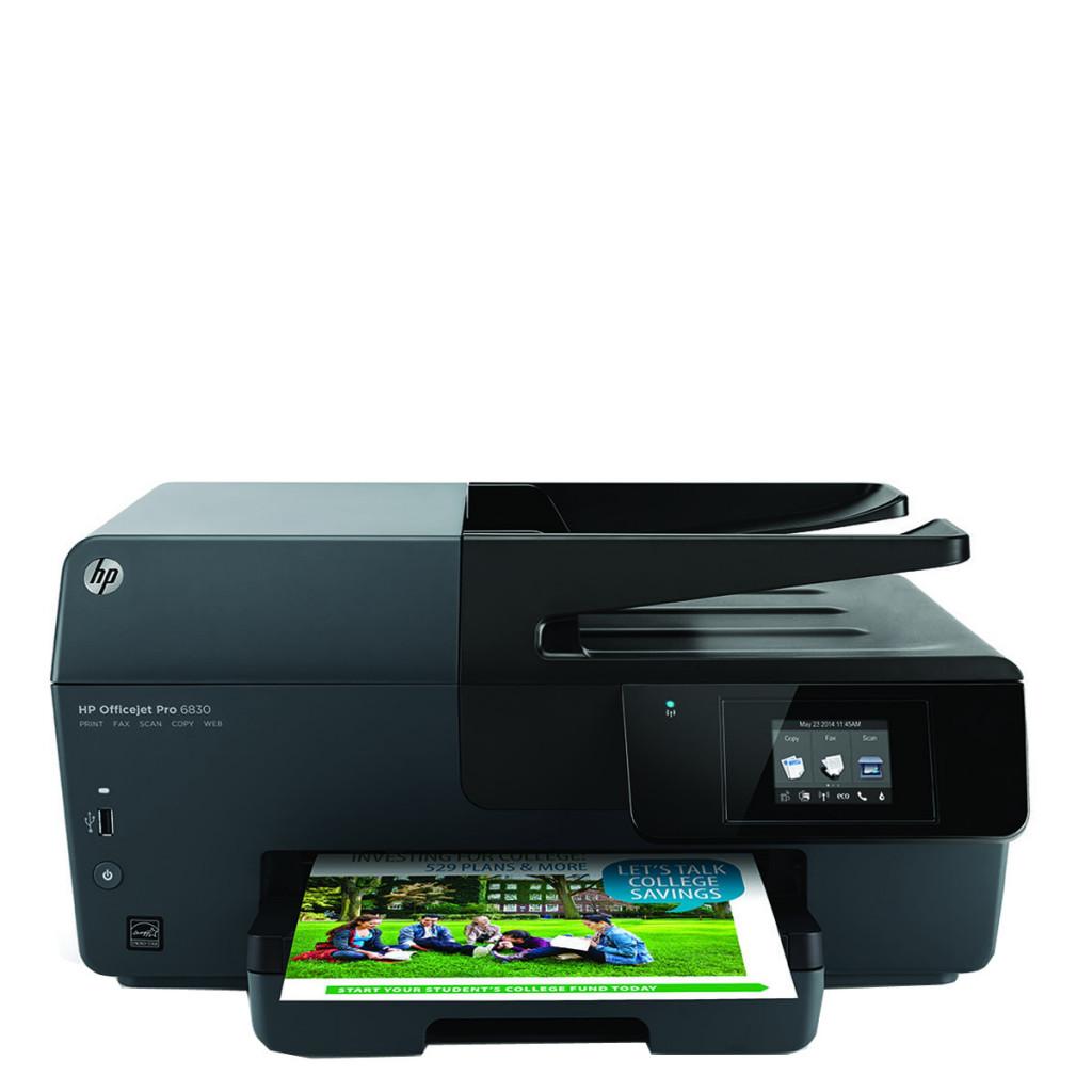 Multifunción Tinta HP Officejet Pro 6830 Fax, Wi-Fi, ePrint