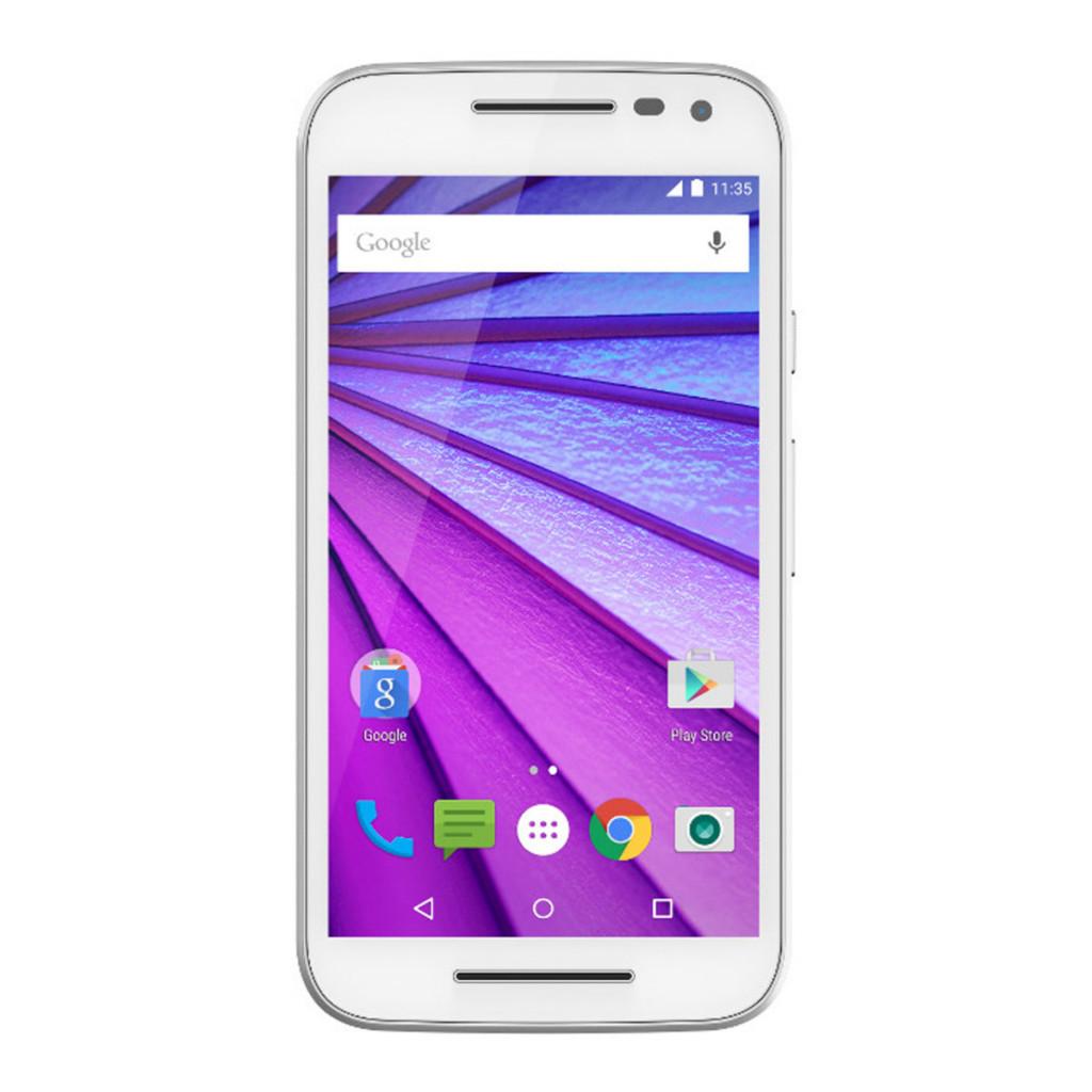 Smartphone libre Motorola Moto G (3rd Gen) 4G blanco