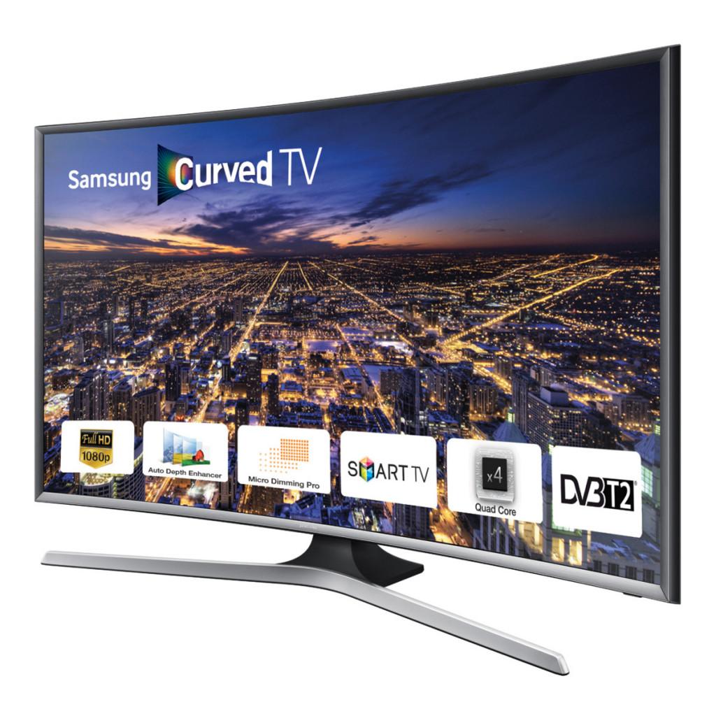 TV LED Curvo 48'' Samsung UE48J6300 Full HD, Wi-Fi y Smart TV