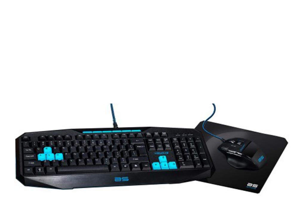 Teclado + Ratón + Alfombrilla Gaming Bluestorck GKB-Pack