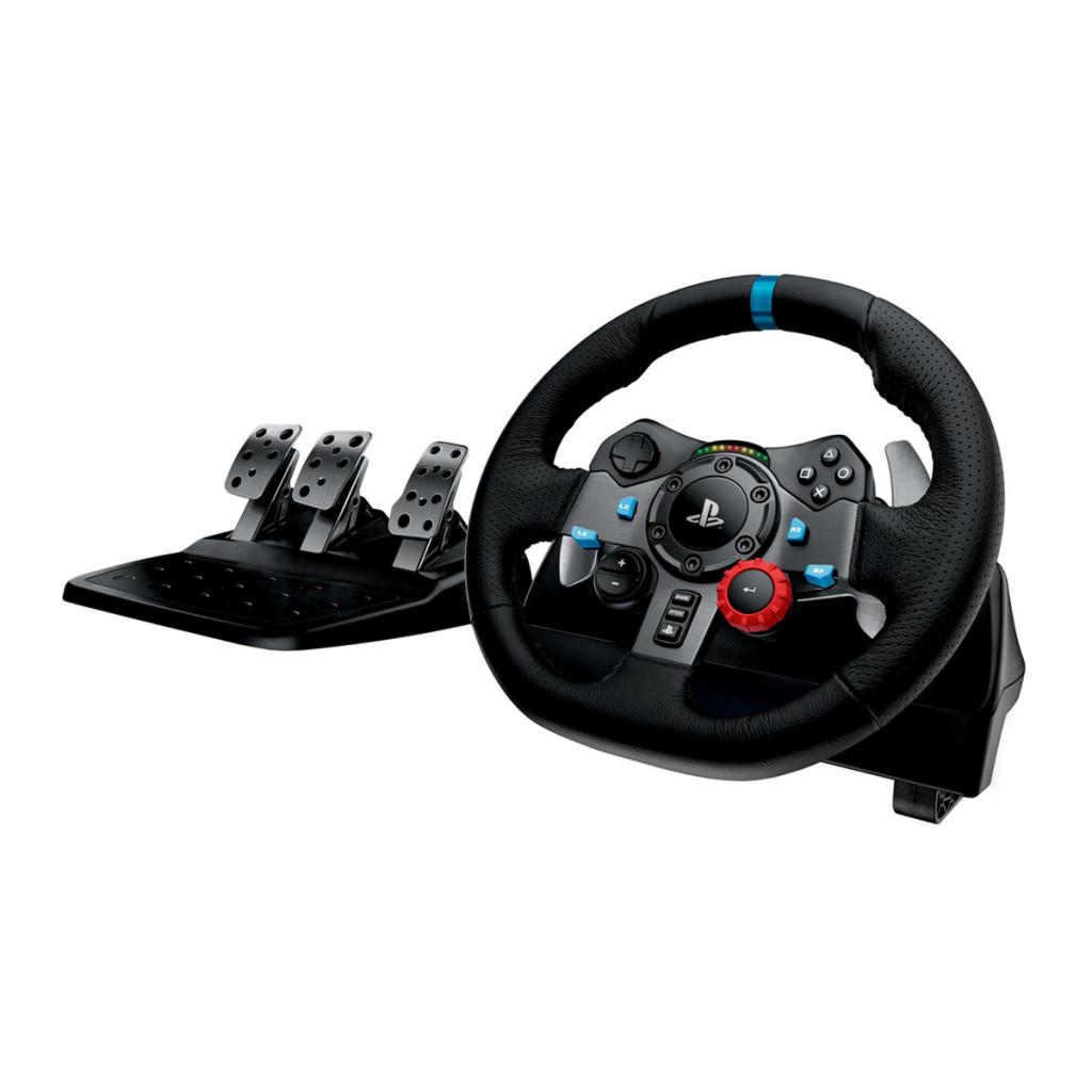 Volante y pedal de simulación de carreras Logitech G29