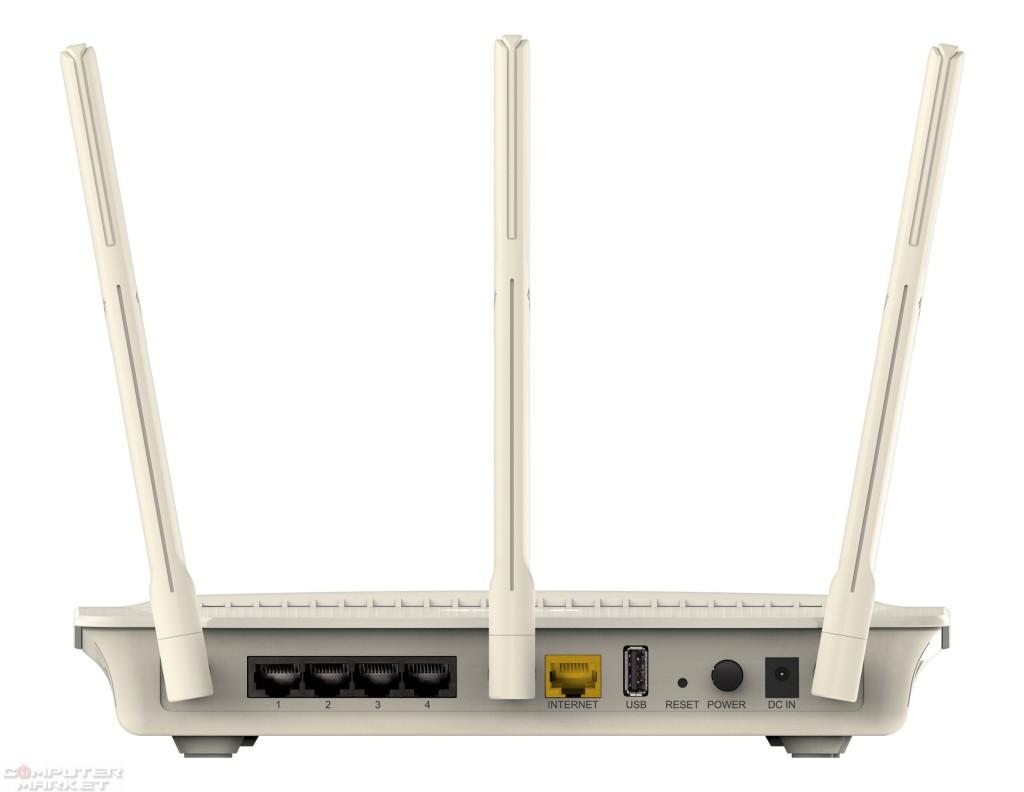 """El puerto de red amarillo es por donde """"entra"""" la conexión de Internet. Los otros cuatro negros son los de salida hacia otros equipos."""