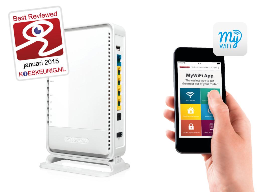 El uso de una app para móvil facilita enormemente la gestión del router.