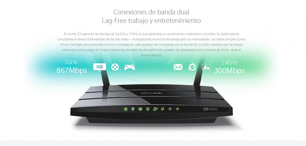 Para aprovechar al máximo la velocidad de las conexiones de fibra o cable es necesario disponer de un router con las tecnologías más avanzadas.
