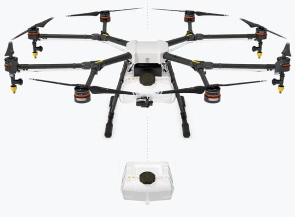 dron `profesional agras
