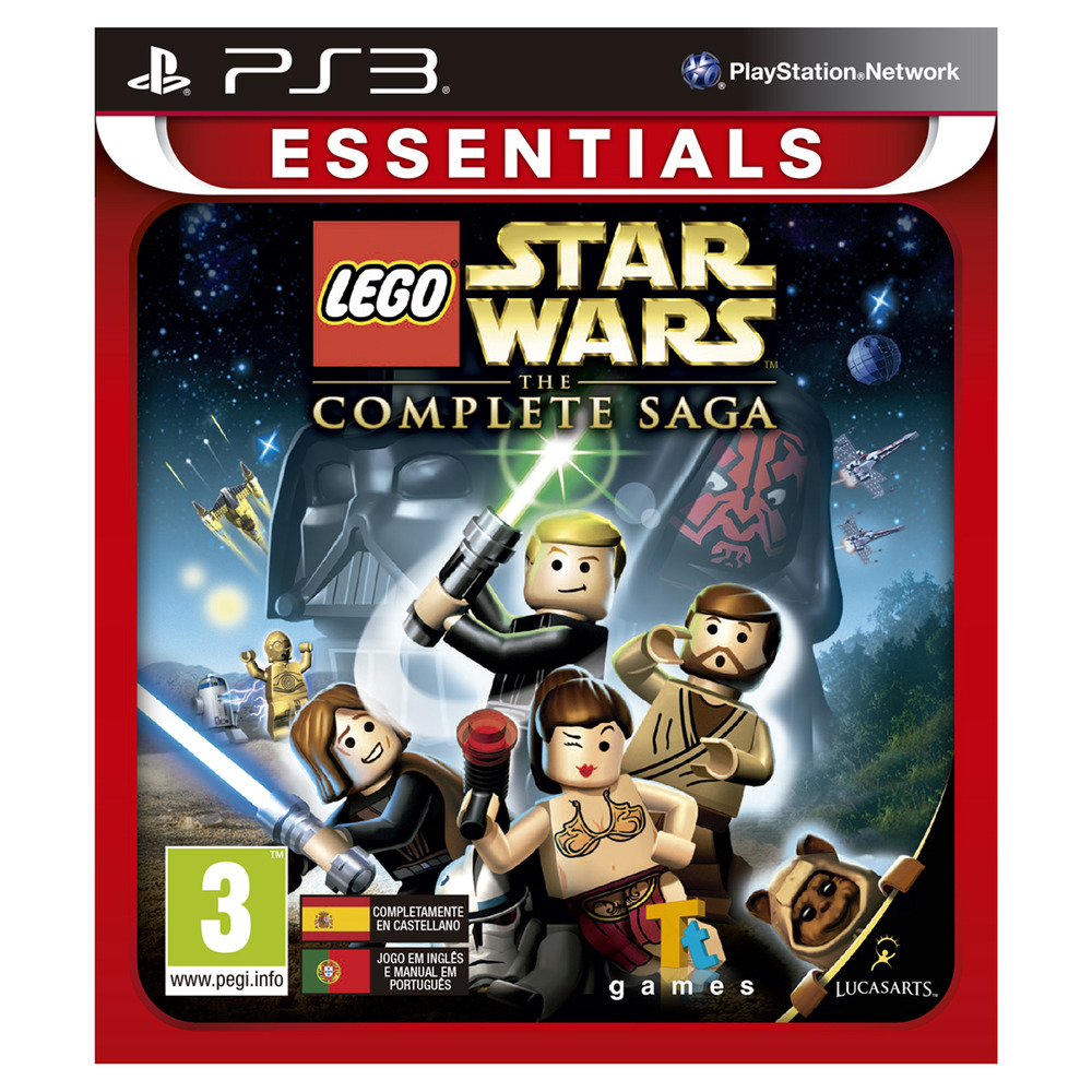 Lego Star Wars 3 The Complete Saga Essentials
