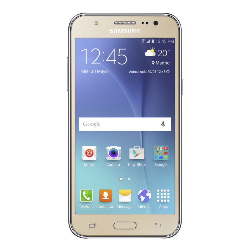 Smartphone libre Samsung Galaxy J5 Dorado