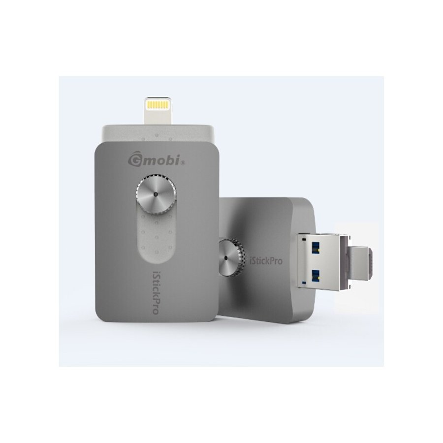 Pendrive Lightning 64 Gb Silver HT iStick PRO gris_l
