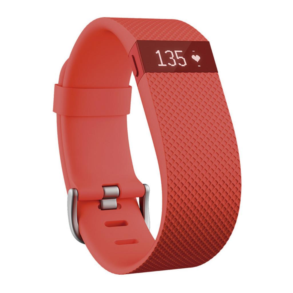 Pulsera de actividad y ritmo cardíaco Fitbit Charge HR tamaño grande