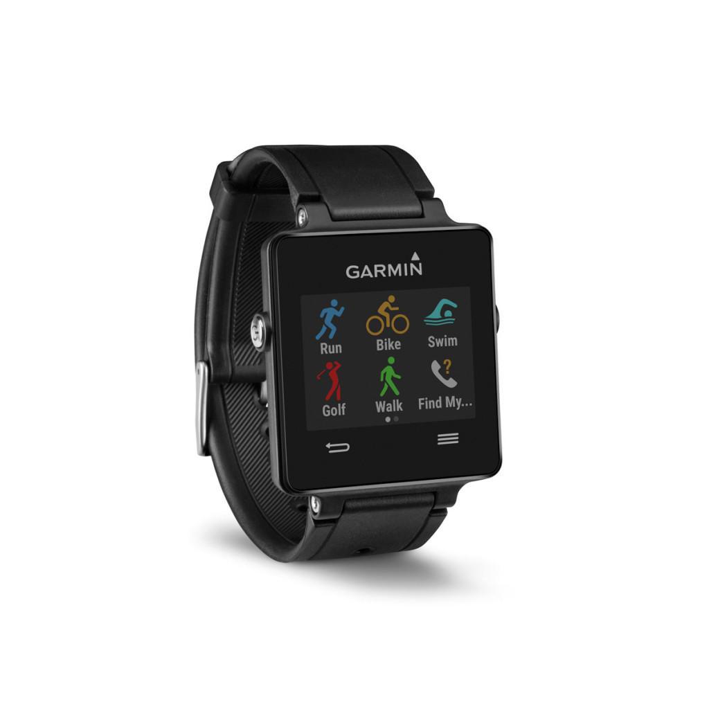 Reloj inteligente Smartwatch Garmin vívoactive con GPS Negro