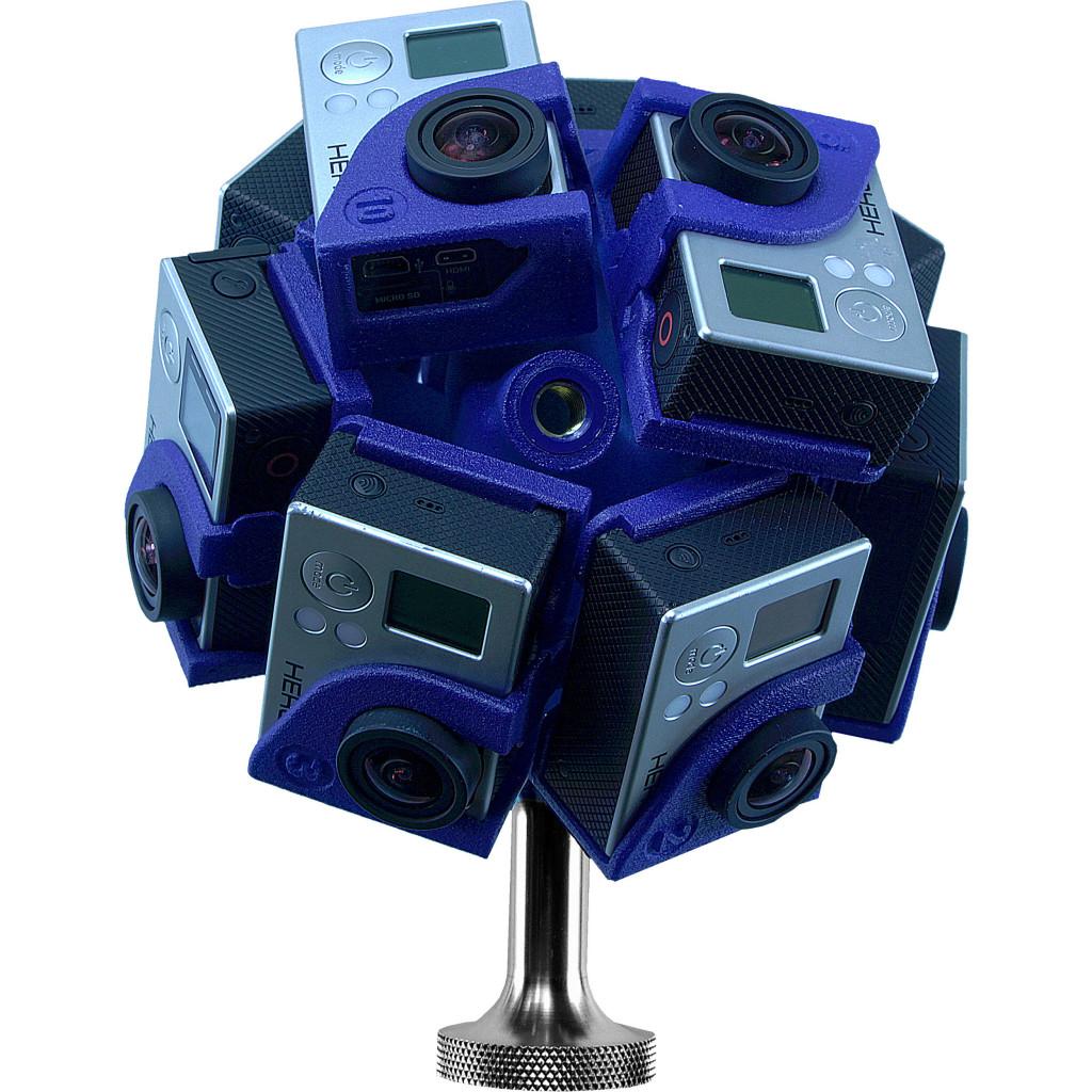 rig gopro impreso 3D