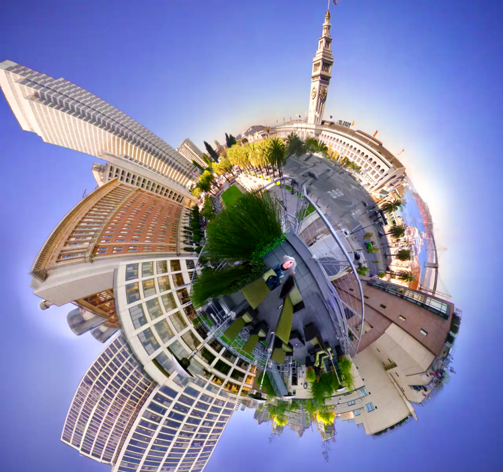 Video_Planet_Ferry_Building_in_San_Francisco_AKA_Stereographic_Video_-_First_Try de Nate Bolt