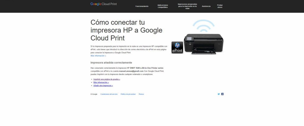 hp eprint cloud printer 2