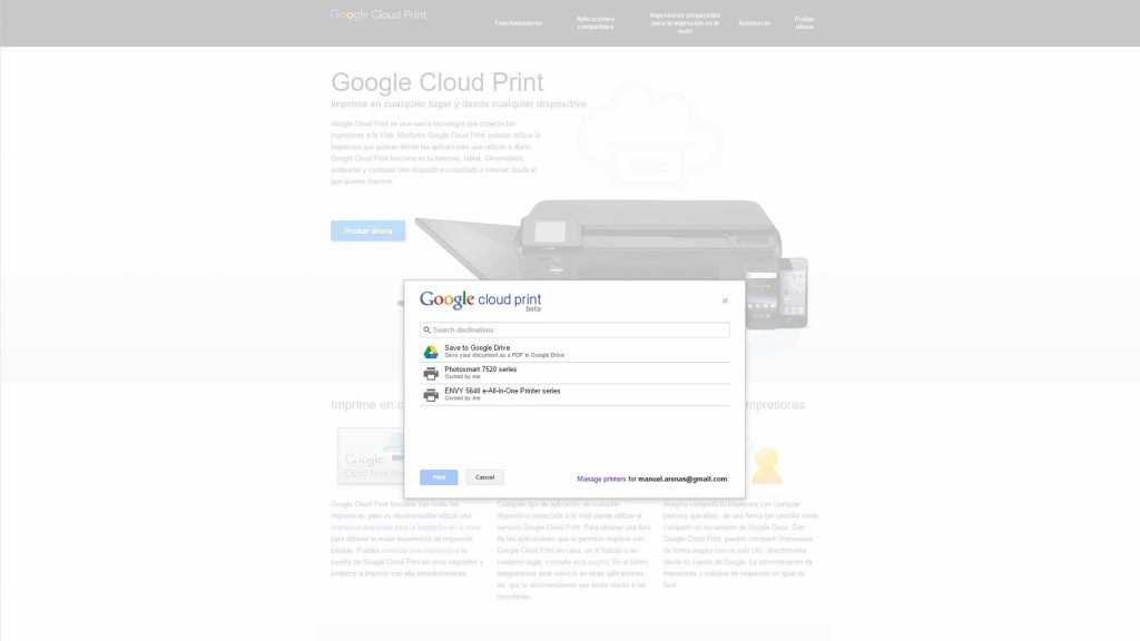 hp eprint cloud printer 3