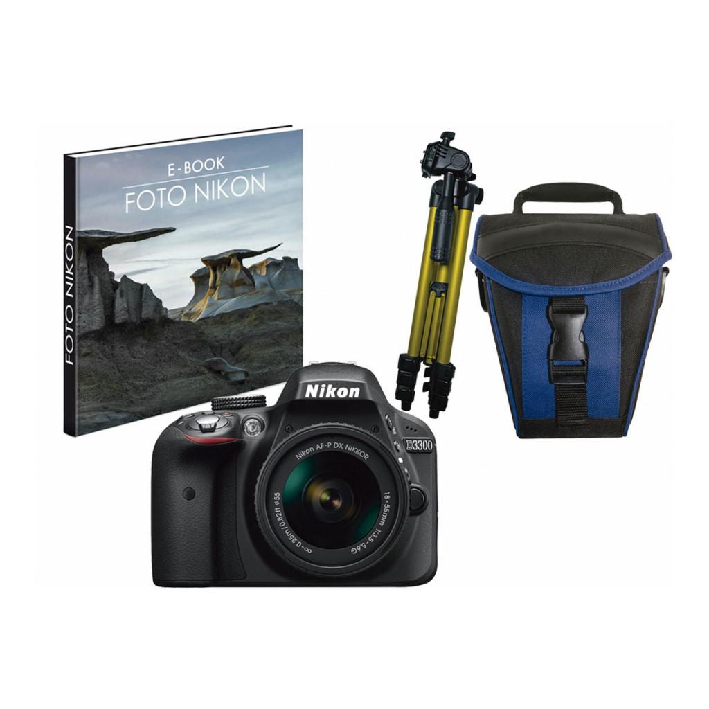 Nikon D3300 con Objetivos