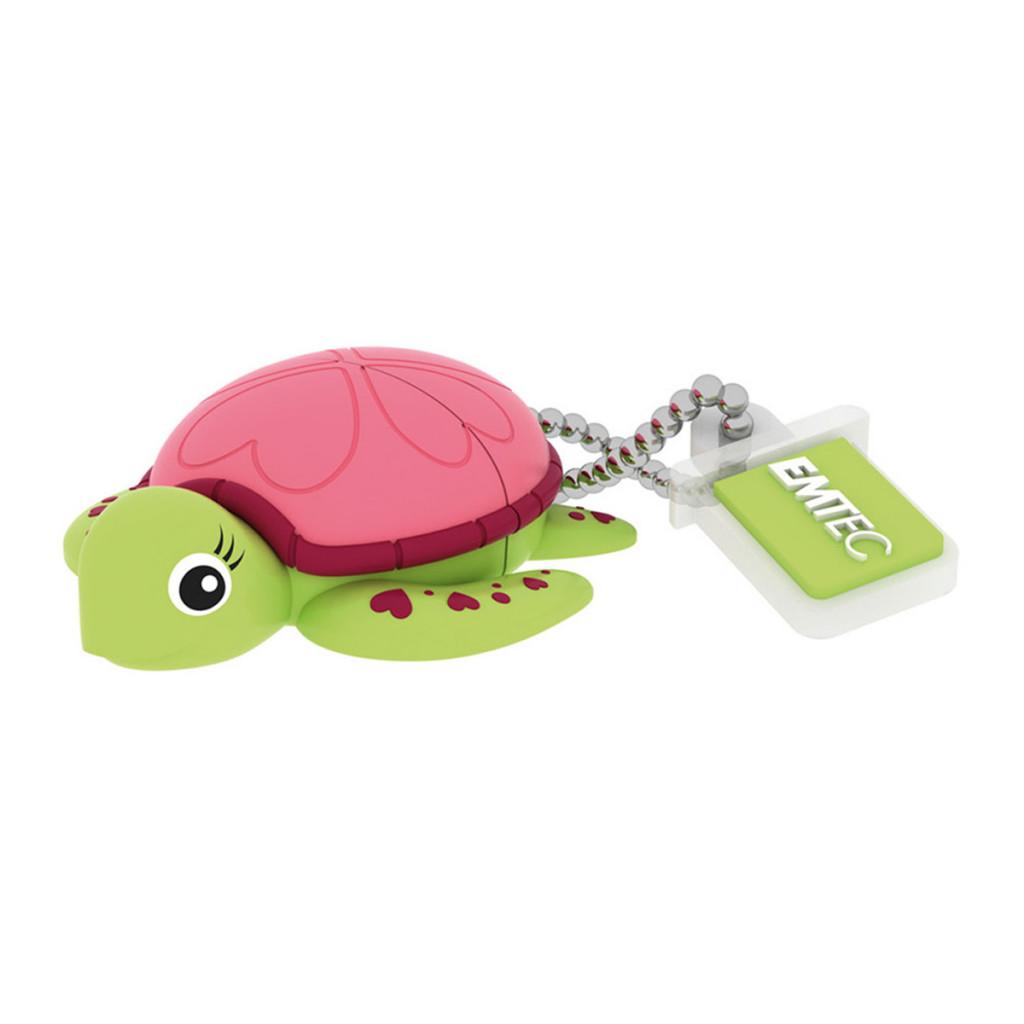Pendrive 3D Emtec 8 GB Turtle Lady