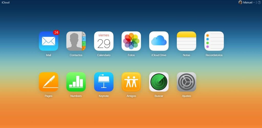 apple icloud servicios