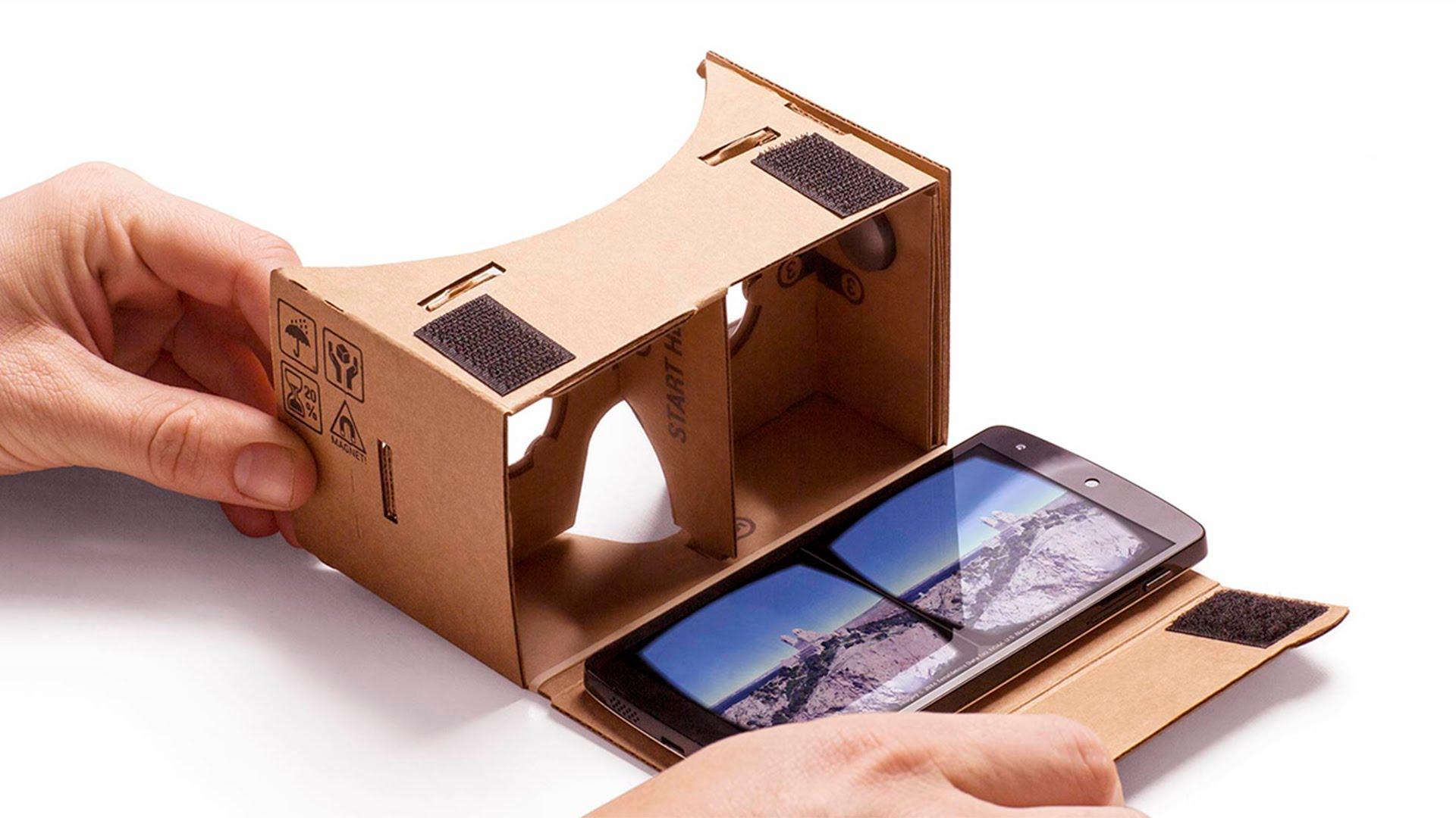 video 360 cardboards