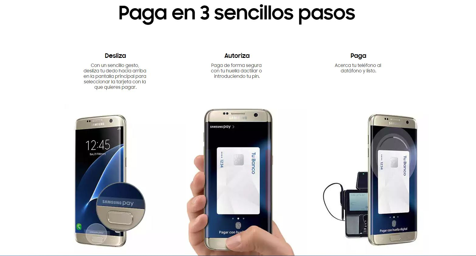 samsung pay pasois