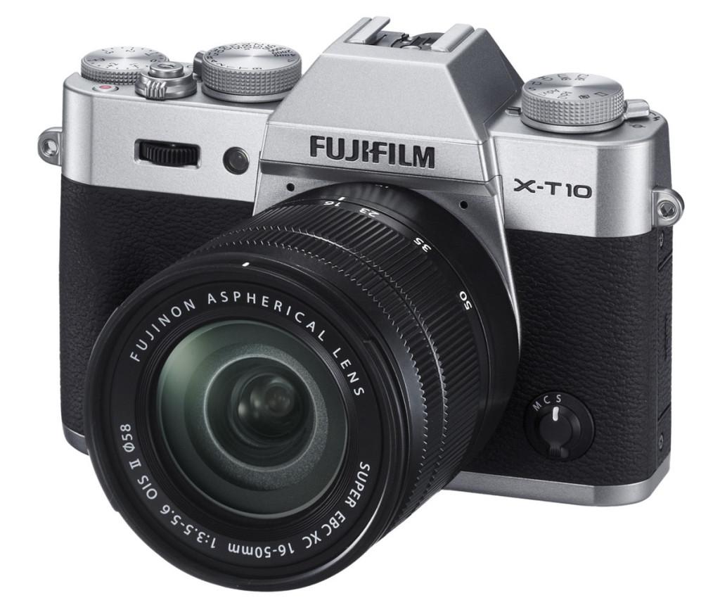 Fujifilm X-T10 con Objetivo XC16-50mm OIS II