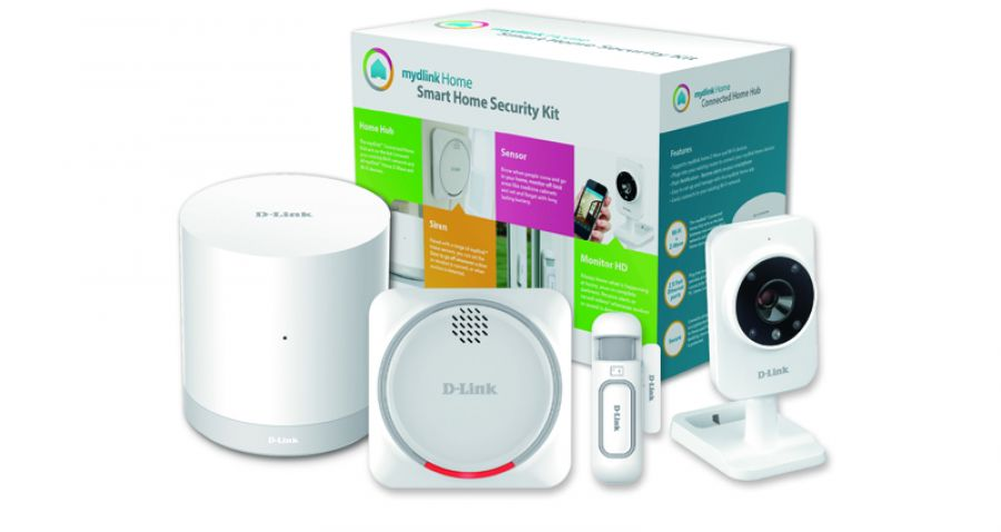 Kit de Seguridad D-Link MyDlink Home