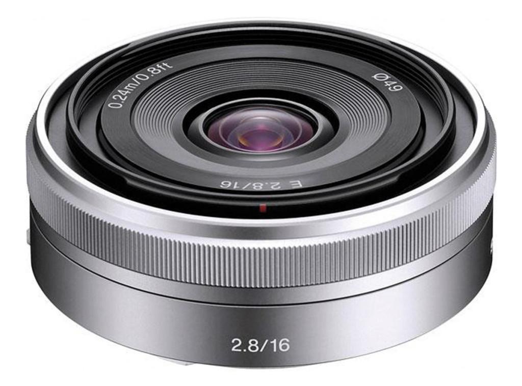 Objetivo Sony 16 mm F2,8 para cámaras NEX