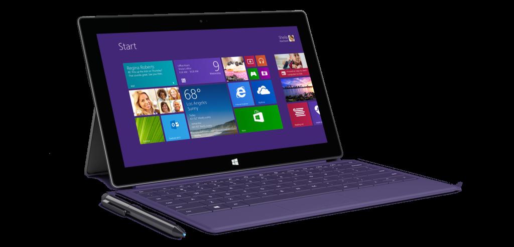 El primer Surface Pro