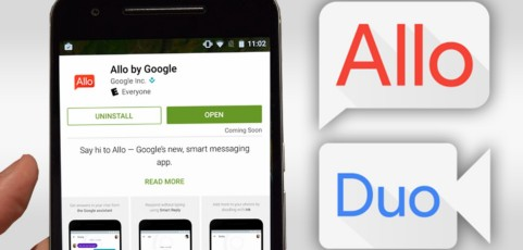 Duo y Allo: así son las alternativas a Facetime y WhatsApp creadas por Google para tu móvil