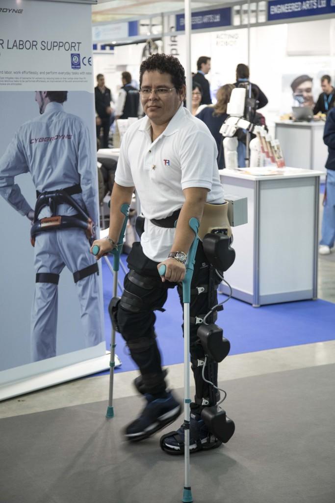 rehabilitación exoesqueleto