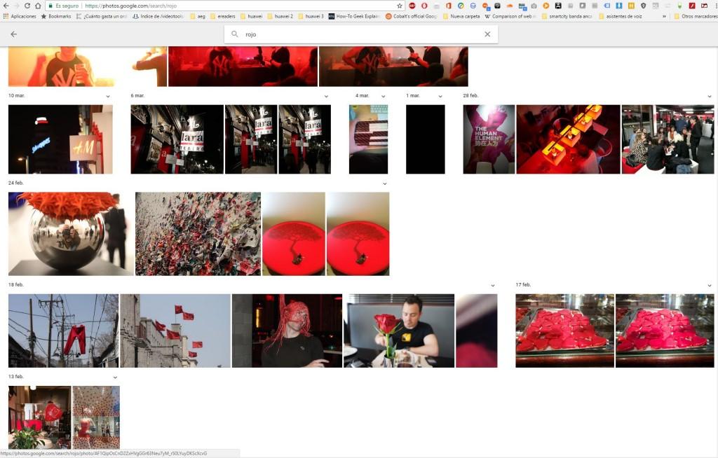 google rojo