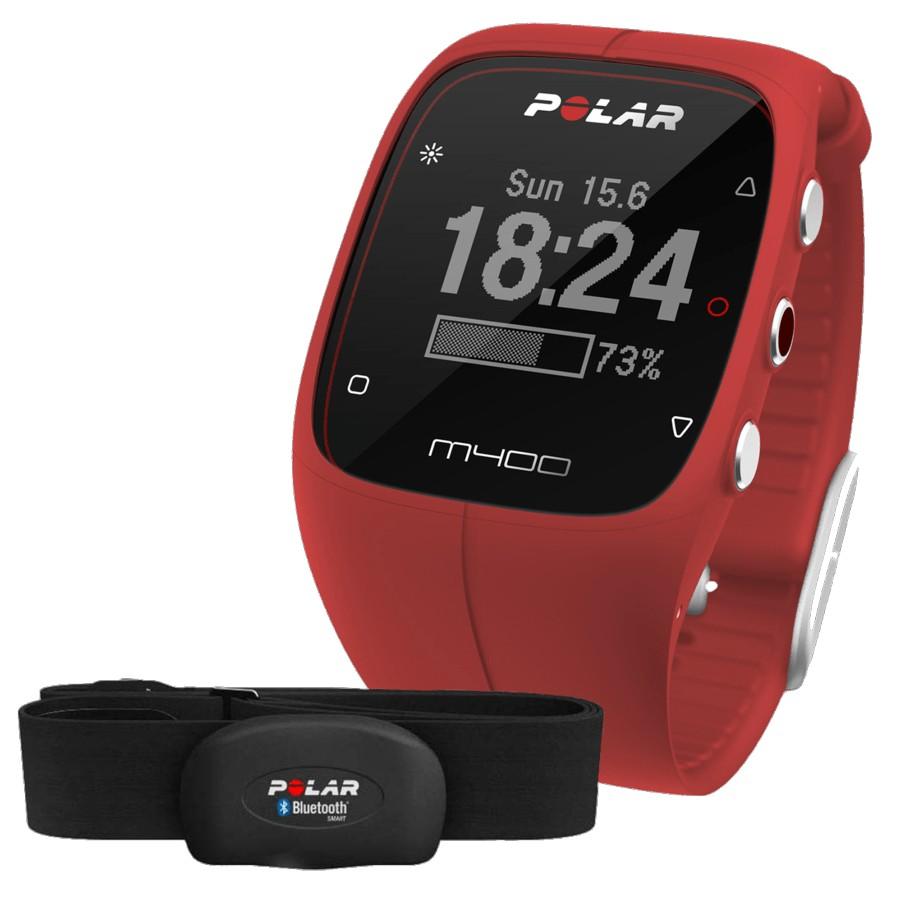 reloj-gps-polar-m400-cinta-hr-rojo