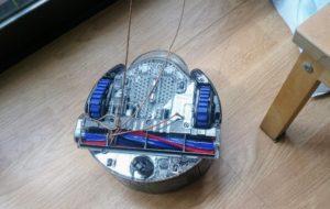 Dyson 360 Eye cable enredado