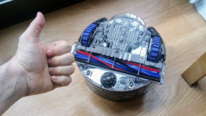 Dyson 360 Eye cable enredado solucionado