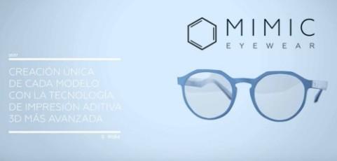 """La impresión 3D para tener unas gafas a medida ya es posible: atrévete con el """"efecto mimic"""""""