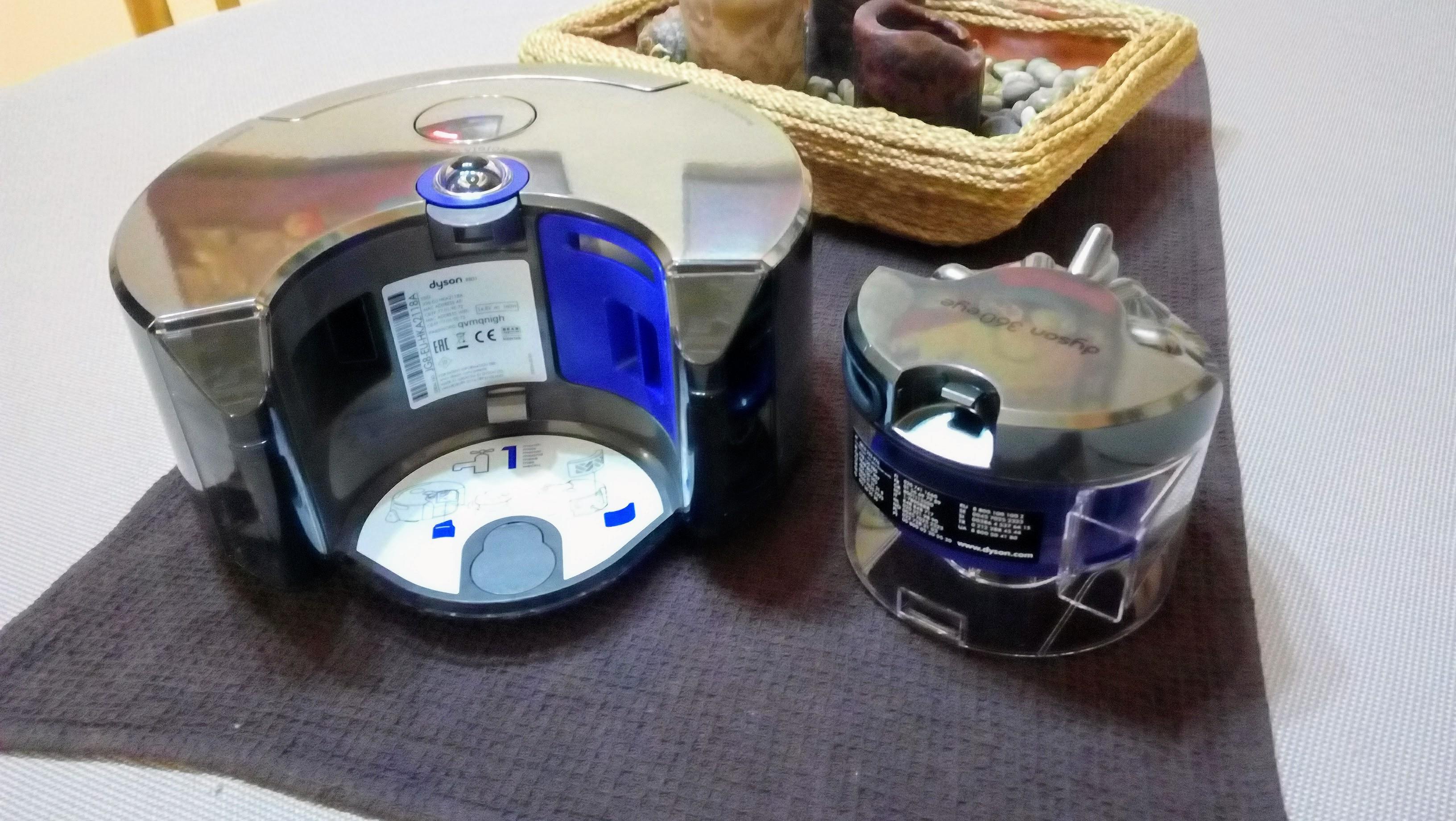 dyson 360 eye robot aspiradora frontal