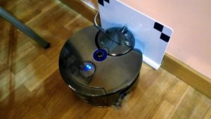 dyson 360 eye robot aspiradora puerto de carga