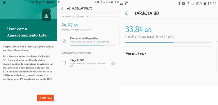 tarjeta SD para tu Android