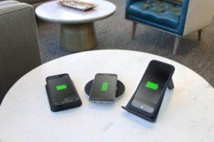telefonos con carga inalámbrica qi