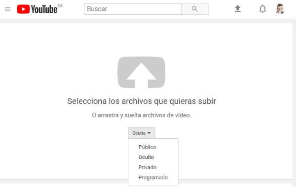 subir video youtube