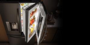 consumo eléctrico hogar electricidad frigorífico puerta nevera