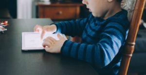 tablet niño