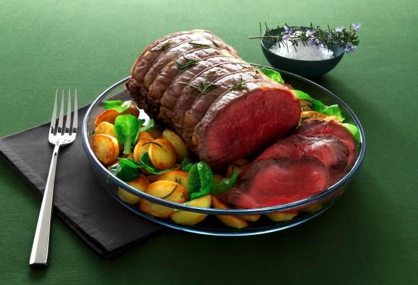 carne asada microondas