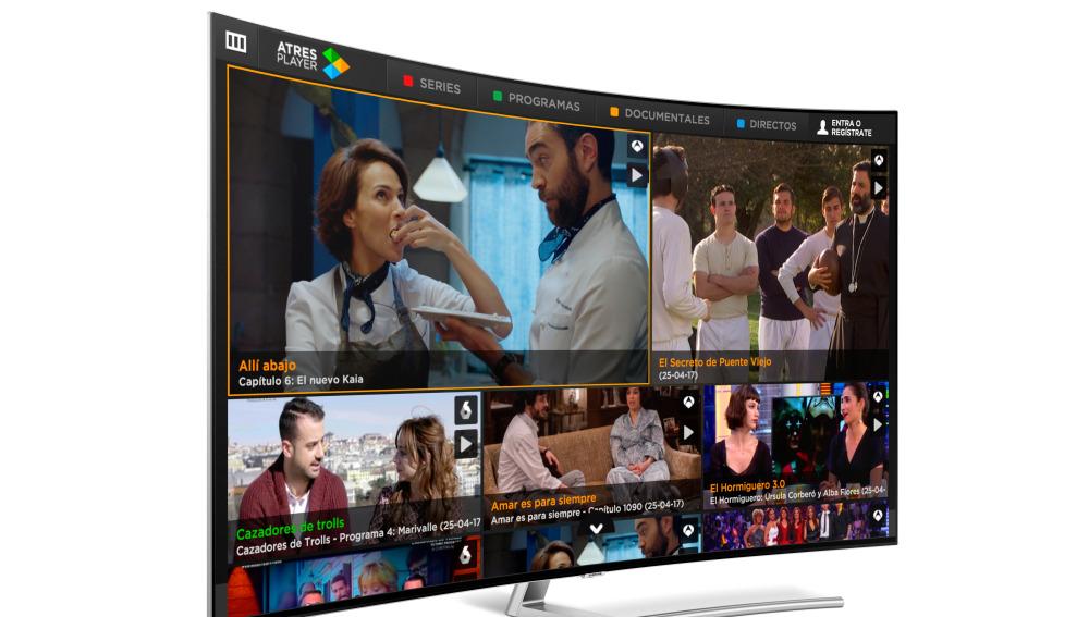 atresplayer samsung smart tv