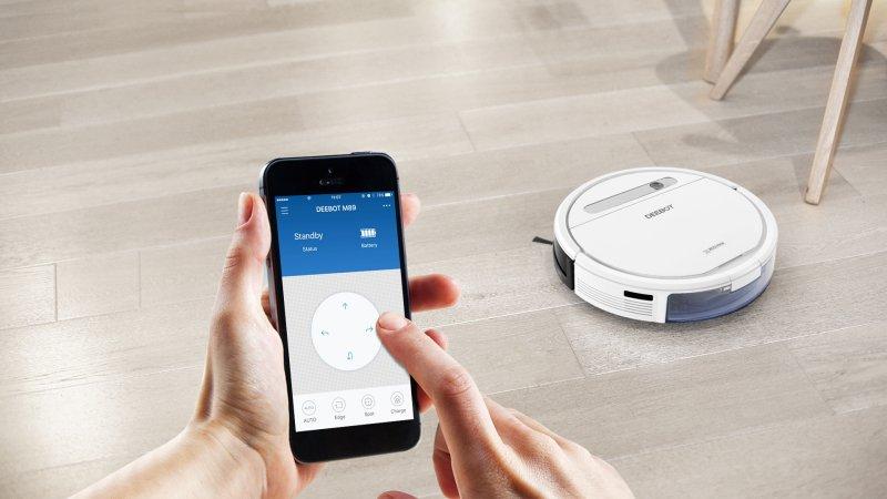 ecovacs deebot robot de limpieza