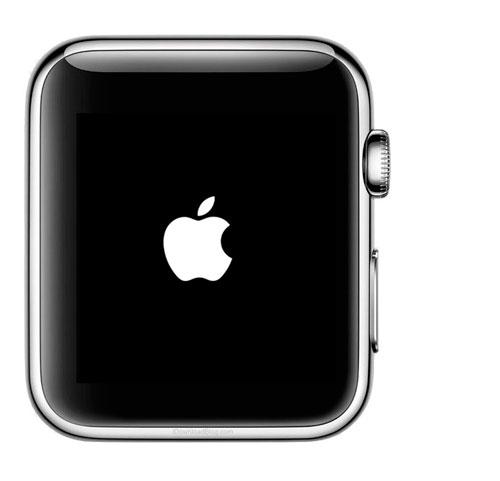 Logotipo de encendido del Apple Watch